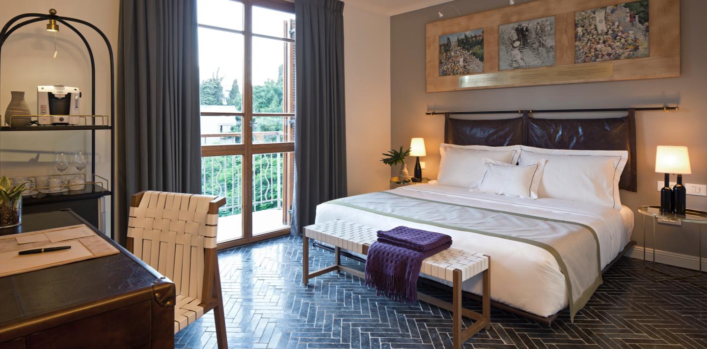 מלון רוטשילד - החדרים